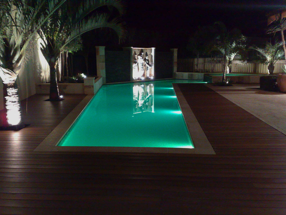 New Concrete Pool Niche For Underwater Pool Led Light