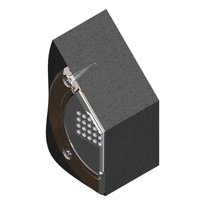 12 volt led pool light fixture meteor lsr36240